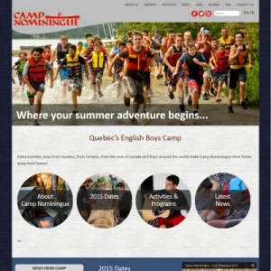 Website Design Portfolio - Camp Nominingue