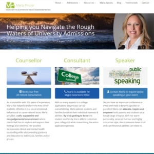 Website Design Portfolio - Marla Pinsler