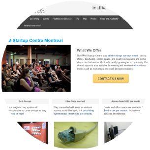 Molecularcode Website Design Portfolio - RPM Startup Centre
