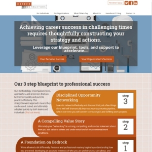Website Design Portfolio - Career Constructors